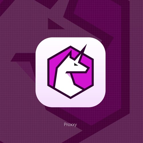 Dating app logo with the title 'Unicorn'