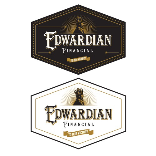 Black and gold logo with the title 'Edwardian Financial'