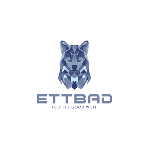 Kickass design with the title 'Badass concept for ETTBAD company'