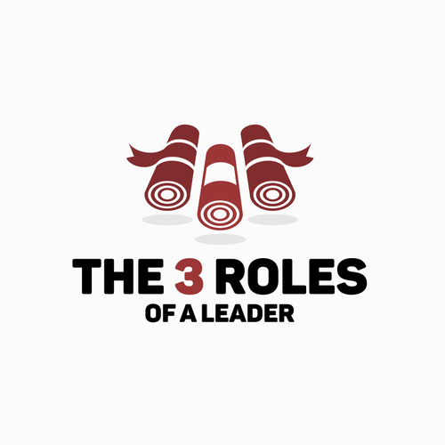 Leadership logo with the title 'The 3 roles'