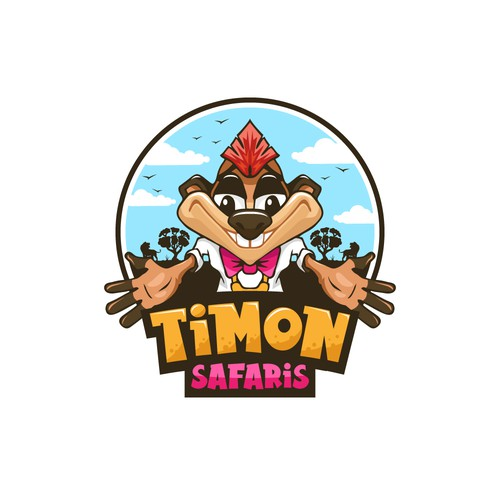 Safari logo with the title 'Timon Safaris'