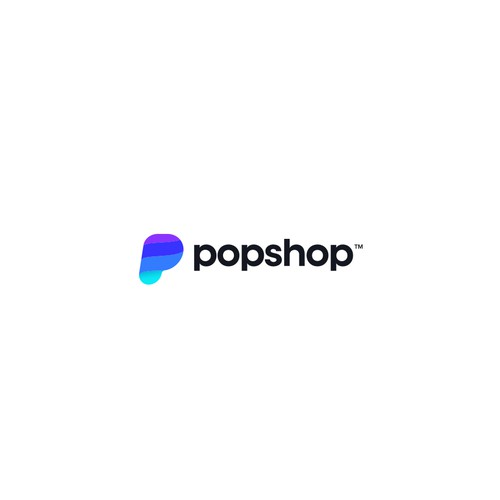 Pop culture logo with the title 'Logo for ecommerce platform'