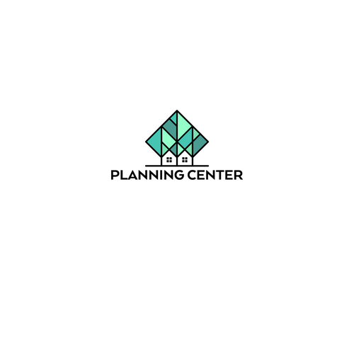 Planner design with the title 'Planning Center Logo'
