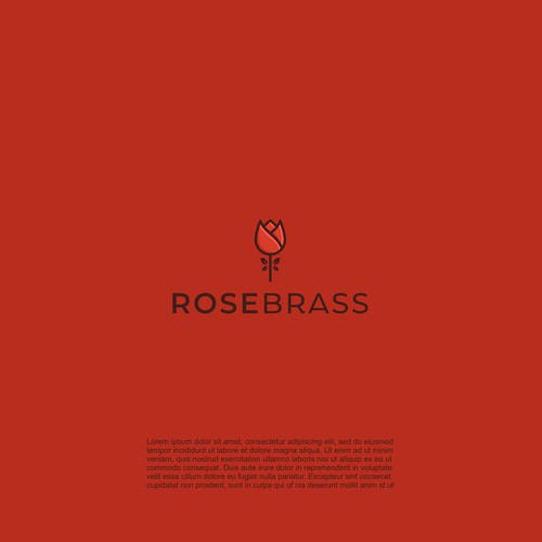 Rose brand with the title 'ROSEBRASS'