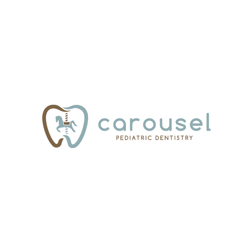 Tooth design with the title 'Carousel'