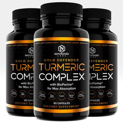 Turmeric Complex Label Design