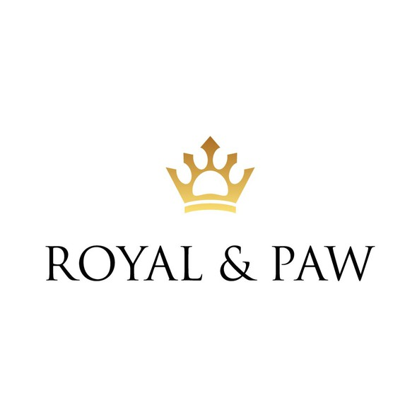 Paw logo with the title 'Exclusive logo design for a Pet Product Brand'