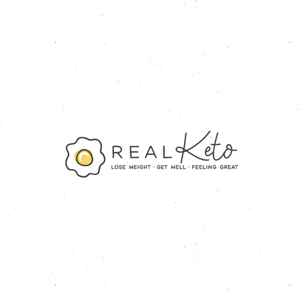 Keto logo with the title 'real keto'