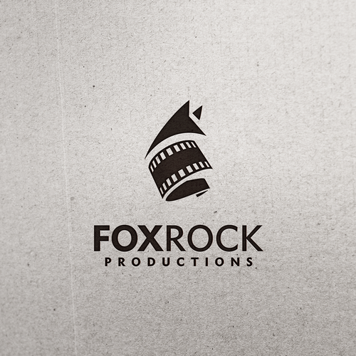 Film logo with the title 'Iconic logo for an independent film company'