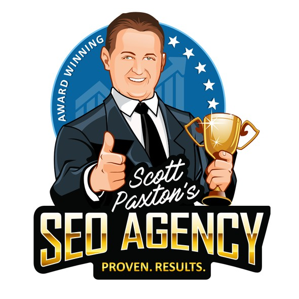 SEO design with the title 'Scott Paxton SEO AGENCY'