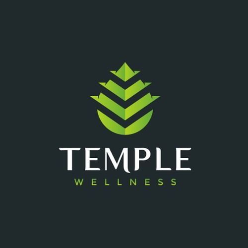 Hemp design with the title 'Bold modern logo for Temple Wellness'