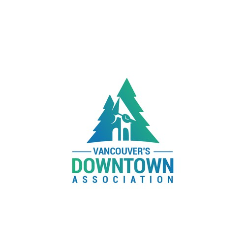 Northwest logo with the title 'Vancouver's Downtown Association'