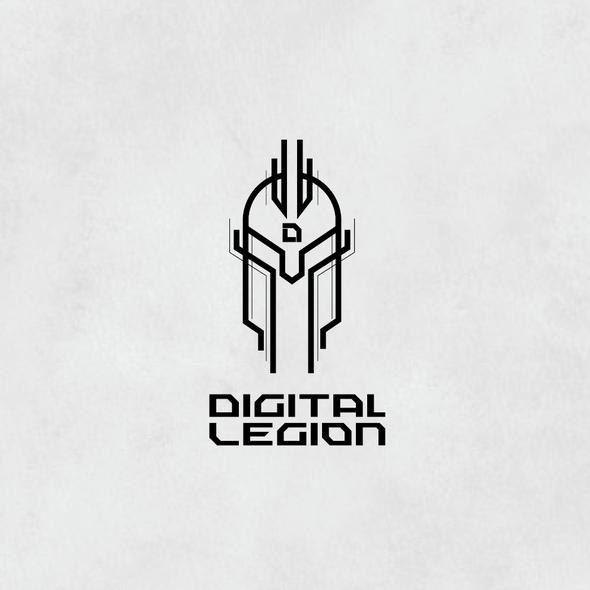 Legion logo with the title 'Digital Legion'