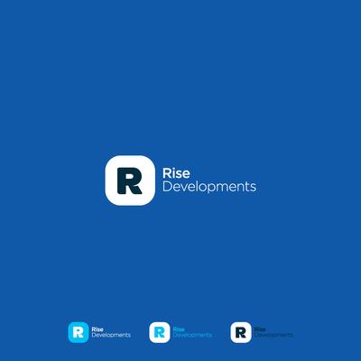 R: Logo / Type Design [App Icon Style]