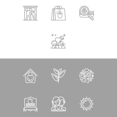 krea asia icon line