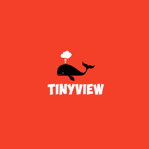 Comic logo with the title 'Tinyview'