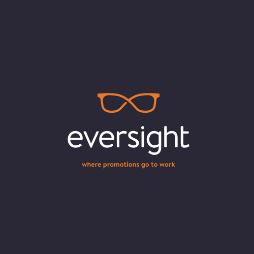Professional design with the title 'Rebrand for eversight'