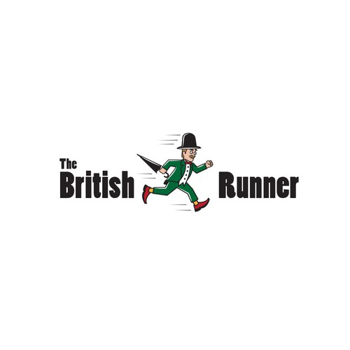 British logo with the title 'Cartoon logo '