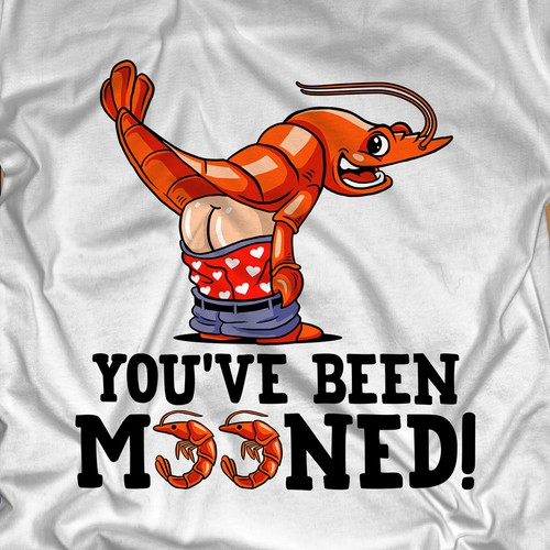 Cool artwork with the title 'You've Been Mooned'