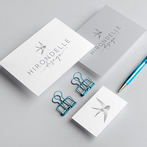 Blend design with the title 'Hirondelle Design'