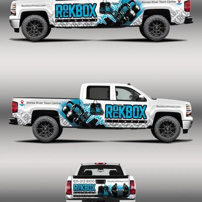 franchise ROCKBOX fitness seeking truck branding