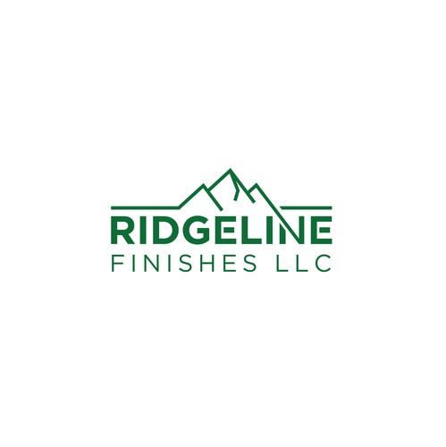 Corporate identity logo with the title 'Ridgeline Finishes LLC'