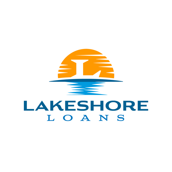 Loan logo with the title 'Logo for Lakeshore Loans'