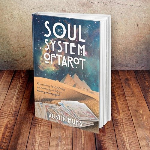 Nebula design with the title 'The Soul System Of Tarot'