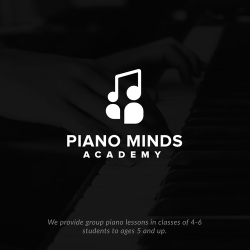 People design with the title 'Piano Minds'