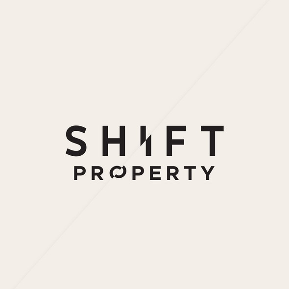 Shift logo with the title 'Shift Property'