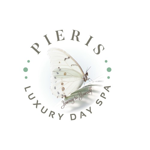 Woman brand with the title 'Butterfly logo for Pieris'