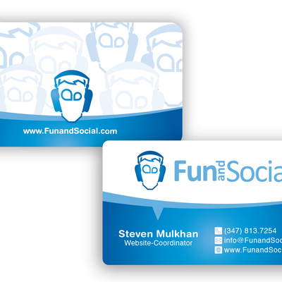 Create the next stationery for Fun and Social