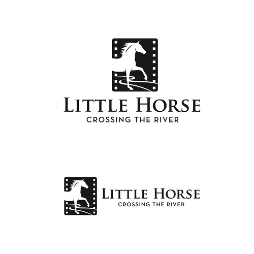Equine design with the title 'Equine logo for film production company'