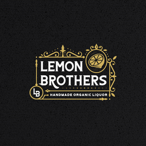 Drink brand with the title 'Logo for liquor company'