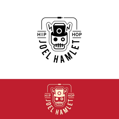 Hip hop logo with the title 'Logo for hip-hop artist'