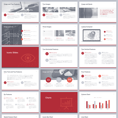 Internet Security Company Presentation Template