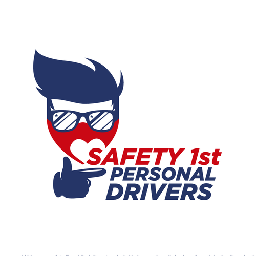 Glove logo with the title 'Safety 1st Personal Drivers'