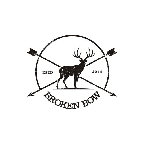 Bow logo with the title 'BrokenBow'