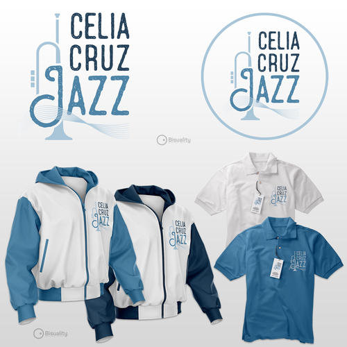 Jazz logo with the title 'Celia Cruz Jazz'