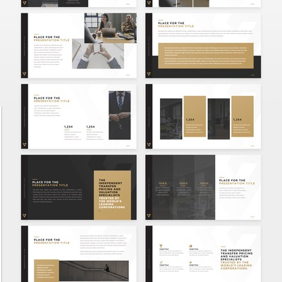 Valentiam Group Presentation Template