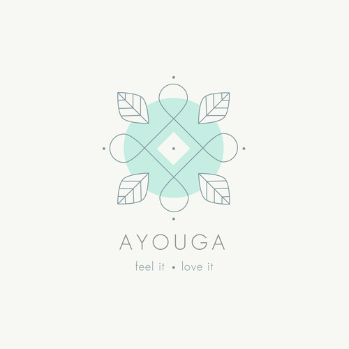 Soul design with the title 'Ayouga logo design'