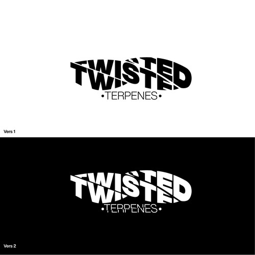 Twist logo with the title 'twisted logo concept by the_craftone'