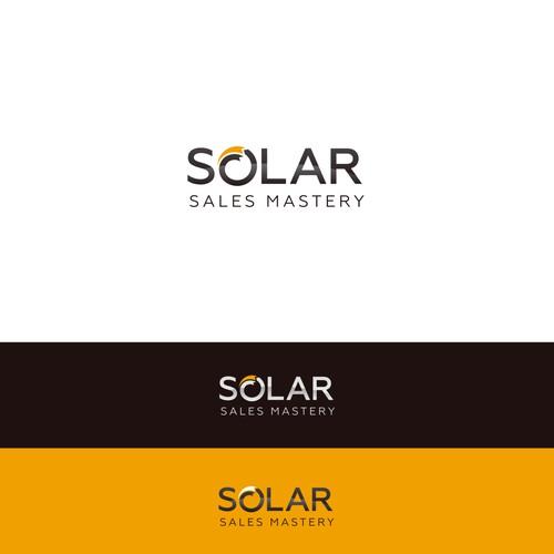 Solar company logo with the title 'Logo for solar company'