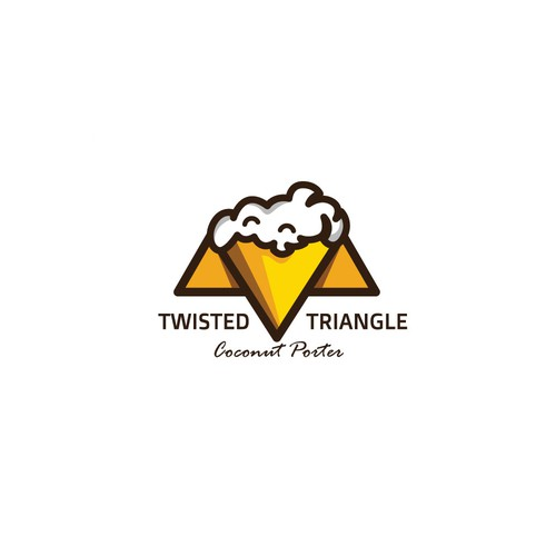 Twisted design with the title 'Logo for Twisted Triangle'