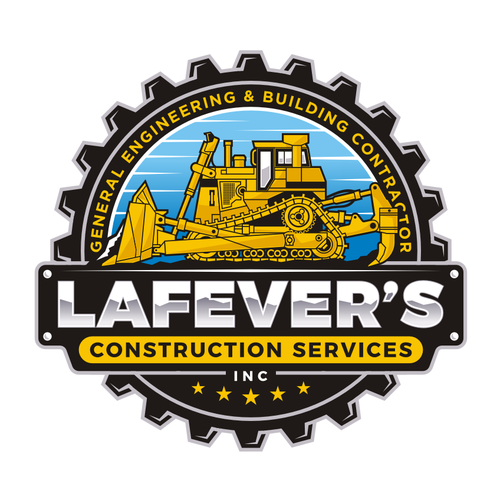 Construction brand with the title 'LAFEVER'S CONSTRUCTION'
