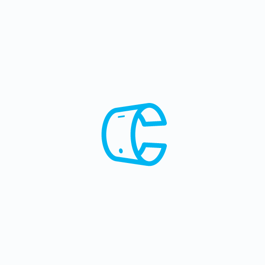 Clever design with the title 'Minimalistic and modern logo'