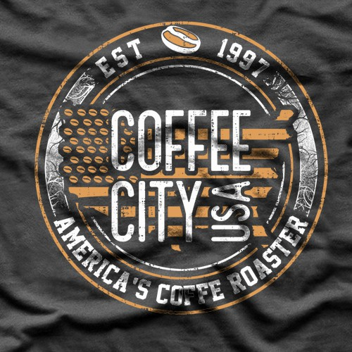 Coffee t-shirt with the title 'CCUSA shirt'