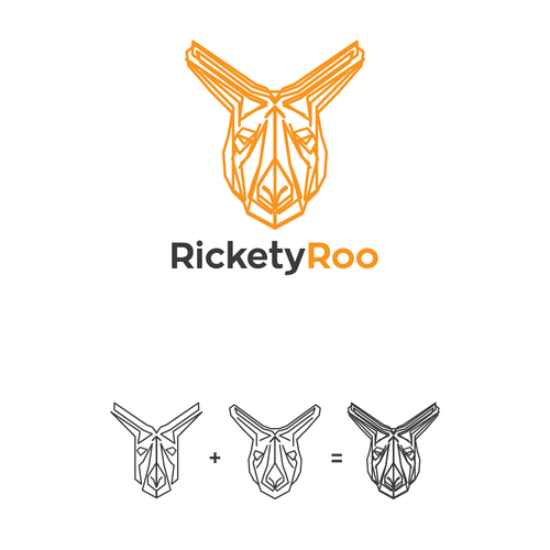 Face brand with the title 'RicketyRoo'