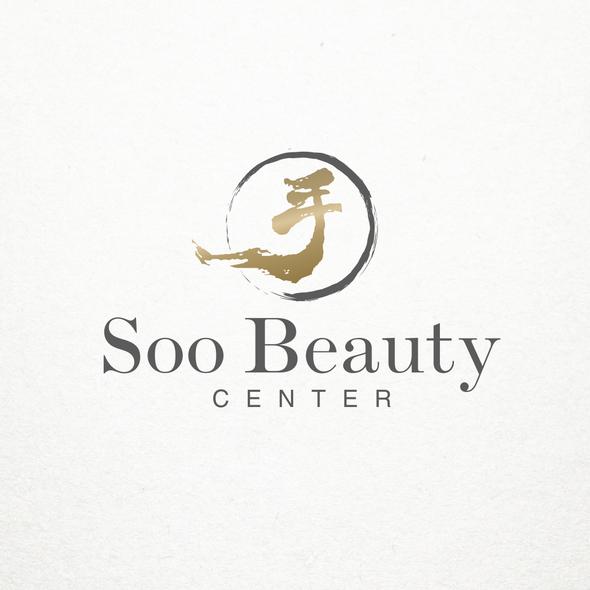 Zen brand with the title 'Elegant logo concept for beauty salon'