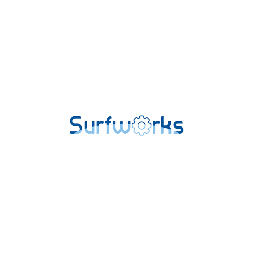 Surfing logo with the title 'Logo for Surfpark logo'